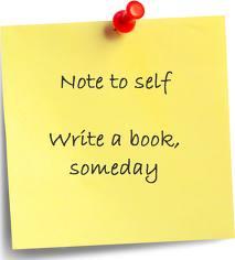 Should i write a book